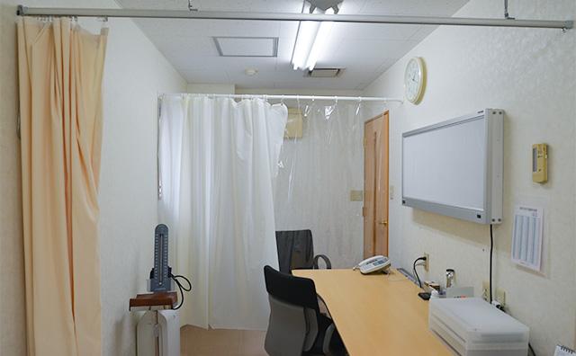 第二診察室(発熱外来用)